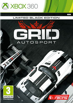 GRID Autosport Black Edition Xbox 360 Cover Art