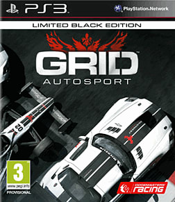 GRID Autosport Black Edition - Only at GAME PlayStation 3 Cover Art