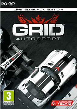 GRID Autosport Black Edition - Only at GAME PC Games Cover Art