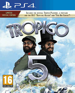 Tropico 5 - Limited Special Edition PlayStation 4 Cover Art