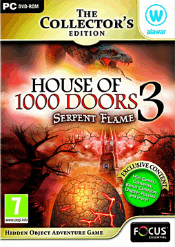 House of 1000 Doors 3 Serpent Flame Collector's Edition PC Games Cover Art