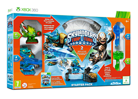 Skylanders Trap Team Starter Pack Xbox-360 Cover Art