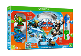 Skylanders Trap Team Starter Pack Xbox-One Cover Art