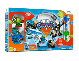 Skylanders Trap Team Starter Pack Nintendo-Wii Cover Art