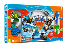 Skylanders Trap Team Starter Pack Wii-U Cover Art