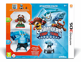 Skylanders Trap Team Starter Pack Nintendo-3DS Cover Art