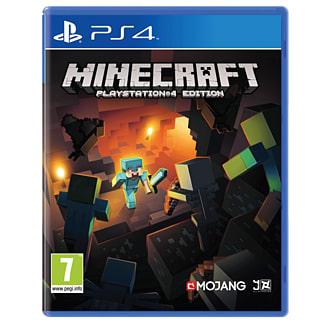 Minecraft on PlayStation 4.