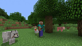 Minecraft: PlayStation 4 Edition screen shot 1