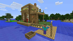 Minecraft: PlayStation 4 Edition screen shot 4