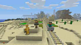 Minecraft: PlayStation 4 Edition screen shot 8