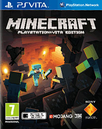 Minecraft PS Vita Cover Art