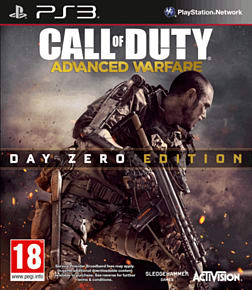 Call of Duty: Advanced Warfare Day Zero Edition with Custom Exo-skeleton – Only at GAME PlayStation 3 Cover Art