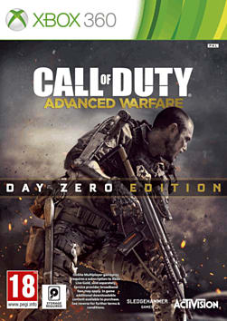 Call of Duty: Advanced Warfare Day Zero Edition with Bonus Exo-skeleton Xbox 360 Cover Art