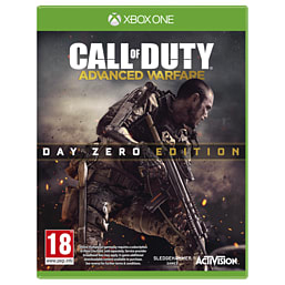 Call of Duty: Advanced Warfare Day Zero Edition with Custom Exo-skeleton – Only at GAME Xbox One Cover Art