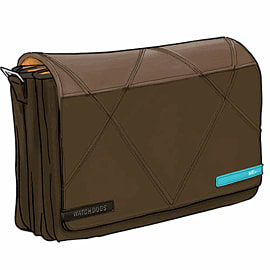 Watch Dogs Hacker NFC Messenger Bag Clothing and Merchandise