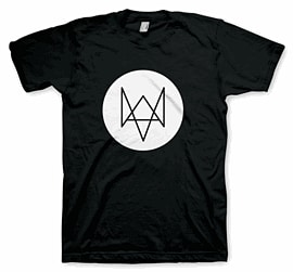 Watch Dogs Fox T-Shirt - Medium Clothing and Merchandise