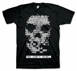 Watch Dogs Skull T-Shirt -Large Clothing and Merchandise