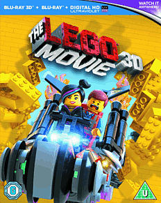 The LEGO Movie 3D 3D Blu-Ray