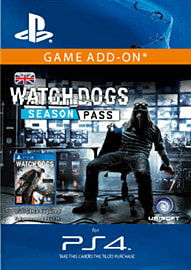 Watch Dogs Season Pass (PlayStation 4) PlayStation Network Cover Art