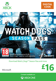 Watch Dogs Season Pass Xbox Live Cover Art