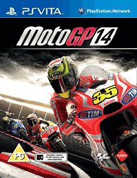 Moto GP 14 PS Vita Cover Art