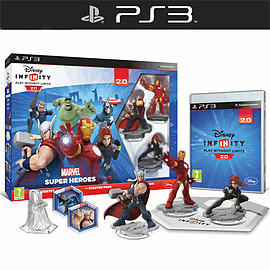 Disney INFINITY 2.0 Marvel Super Heroes Starter Pack PlayStation-3
