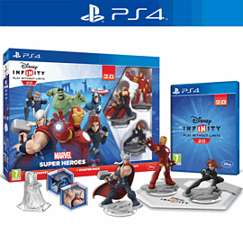 Disney INFINITY 2.0 Marvel Super Heroes Starter Pack PlayStation 4 Cover Art