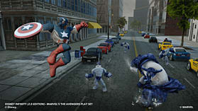 Disney INFINITY 2.0 Marvel Super Heroes Starter Pack screen shot 2