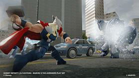 Disney INFINITY 2.0 Marvel Super Heroes Starter Pack screen shot 6