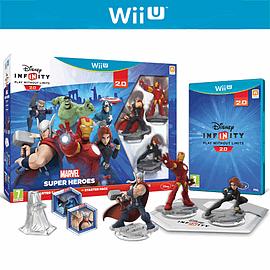 Disney INFINITY 2.0 Marvel Super Heroes Starter Pack Wii-U