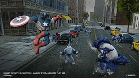 Disney INFINITY 2.0 Marvel Super Heroes Starter Pack screen shot 2