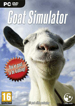 Goat Simulator PC Games Cover Art
