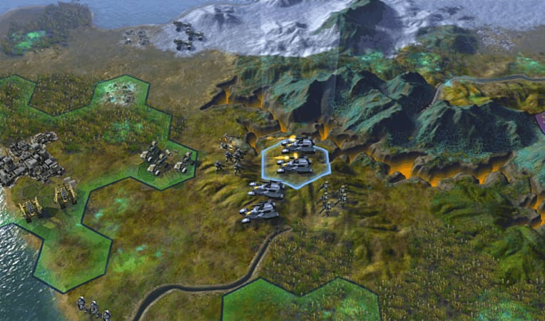 Sid Meier's Civilization: Beyond Earth Screenshots