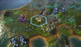 Sid Meier's Civilization: Beyond Earth screen shot 4