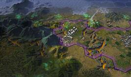 Sid Meier's Civilization: Beyond Earth screen shot 6