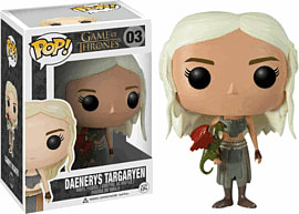 Game of Throne Daenerys Targaryen Pop Vinyl Figure Toys and Gadgets