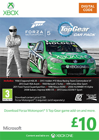 Forza 5 Top Gear Car Pack