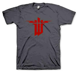 Wolfenstein Logo Size M Clothing and Merchandise