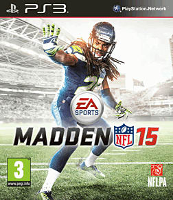 Madden NFL 15 PlayStation 3 Cover Art