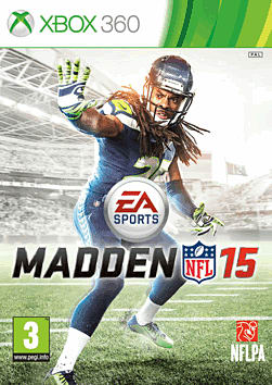 Madden NFL 15 Xbox 360 Cover Art