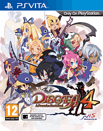 Disgaea 4: A Promise Revisited PS Vita Cover Art