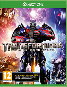 Transformers: Rise of the Dark Spark Weathered Warrior Edition - Only At GAME Xbox One Cover Art