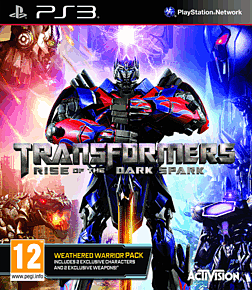 Transformers: Rise of the Dark Spark Weathered Warrior Edition  - Only At GAME PlayStation 3 Cover Art