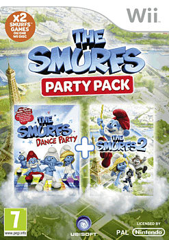 Smurfs Collection Wii Cover Art