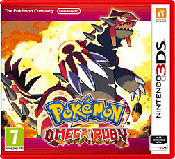 Pokémon Omega Ruby Nintendo 3DS Cover Art