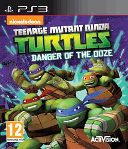Teenage Mutant Ninja Turtles: Danger Of The Ooze PlayStation 3 Cover Art