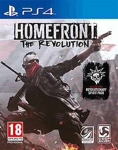 Homefront: The Revolution PlayStation 4 Cover Art