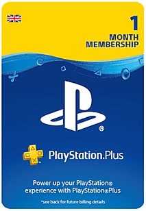 PlayStation Plus 1 Month Membership PlayStation Network Cover Art