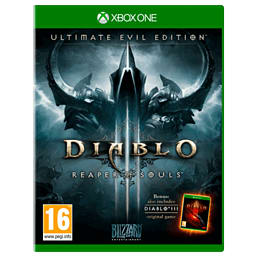 Diablo III Ultimate Evil Edition Xbox One Cover Art