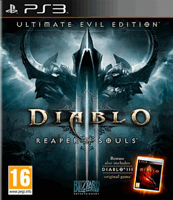 Diablo III Ultimate Evil Edition PlayStation 3 Cover Art